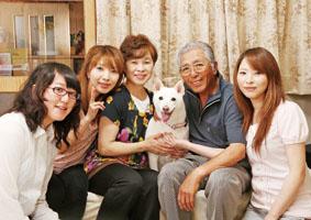 ミックス犬(モモちゃん)の体験談