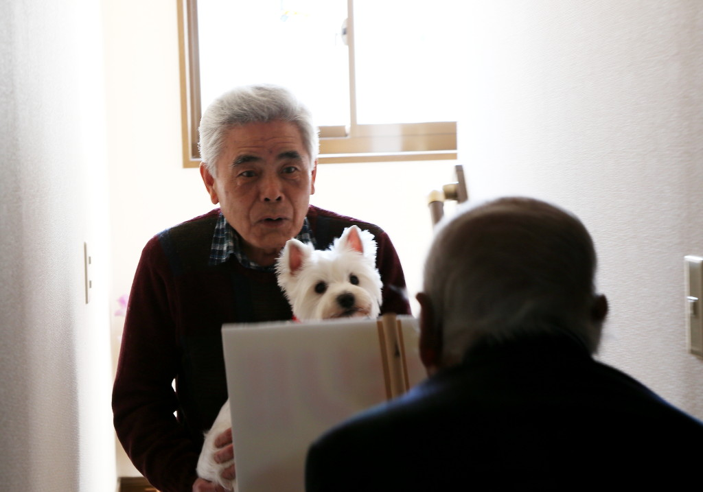応援団長柳生博さん ドッキリ訪問!